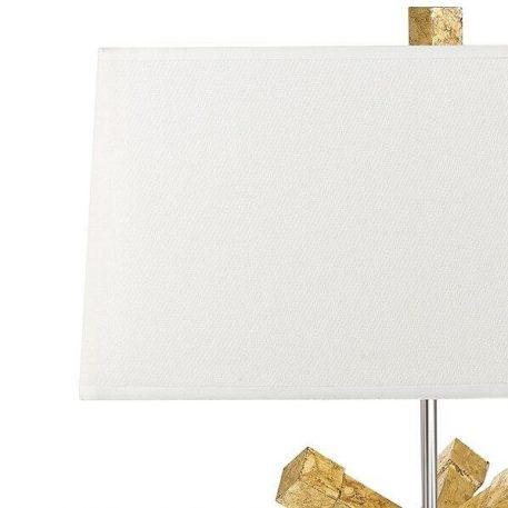 Lampa nowoczesna Styl nowoczesny beżowy, złoty  - Salon