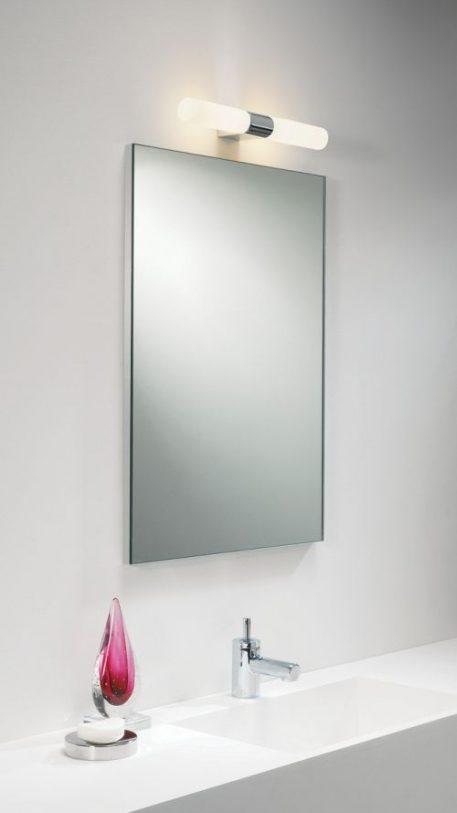 Lampa nowoczesna Styl nowoczesny biały  - Łazienka
