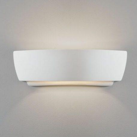 Lampa nowoczesna Styl nowoczesny biały  - Sypialnia