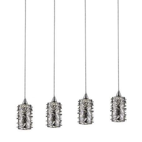 Lampa nowoczesna Styl nowoczesny srebrny  - Kuchnia