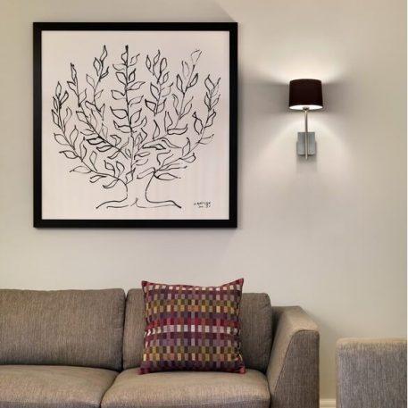 Lampa nowoczesna - Styl nowoczesny - srebrny -  - Salon