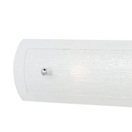 Lampa nowoczesna szklane biały  - Łazienka