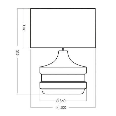 Lampa nowoczesna szklane biały, srebrny, transparentny  - Sypialnia