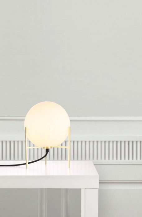 Lampa nowoczesna szklane biały, złoty  - Pokój dziecięcy