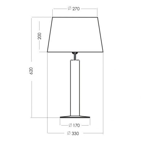 Lampa nowoczesna szklane połysk, Czarny  - Salon