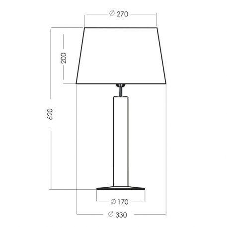 Lampa nowoczesna szklane transparentny, Czarny  - Sypialnia