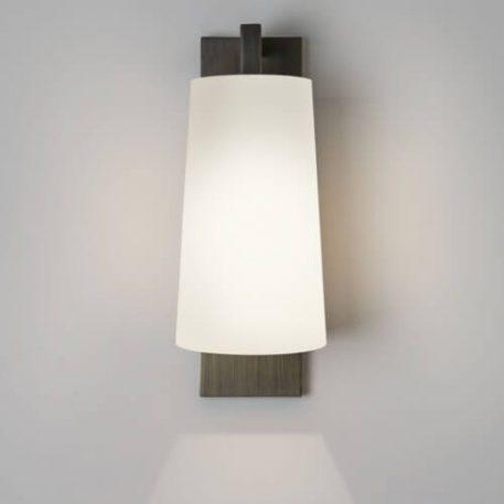 Lampa nowoczesna Z abażurem brązowy  - Salon