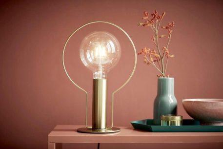Lampa nowoczesna - złoty metal - Nordlux