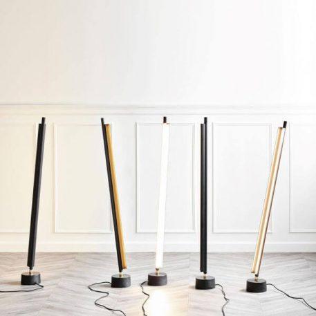 Lampa podłogowa - biały  metal - Nordlux