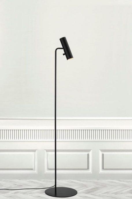 Lampa podłogowa - czarny metal - Nordlux