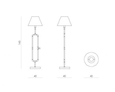 Lampa podłogowa - LGH0010