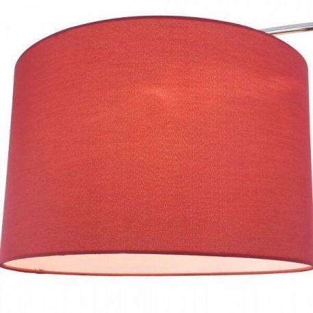 Lampa podłogowa - metal, tkanina - Maytoni
