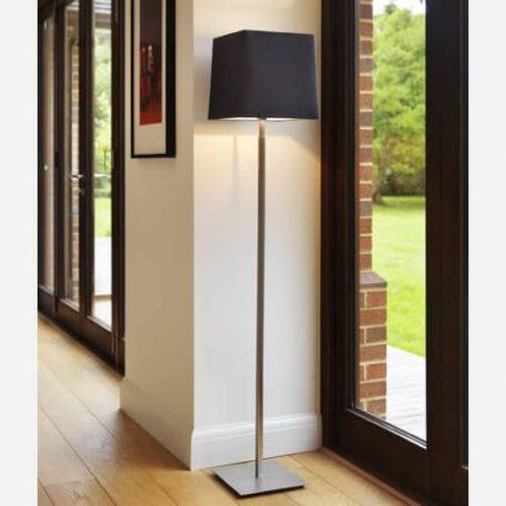 Lampa podłogowa - polerowany nikiel - Astro