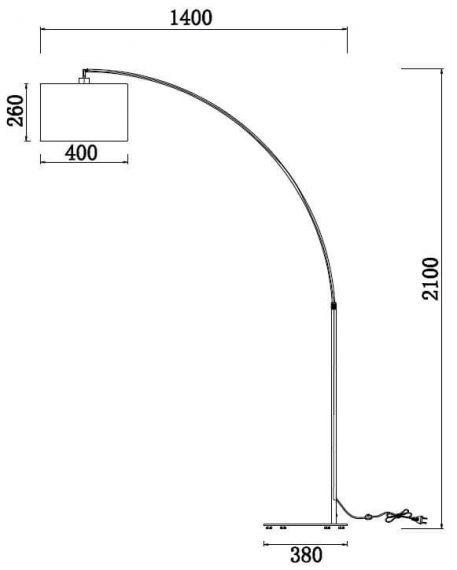 Lampa podłogowa - Z328-FL-01-CH