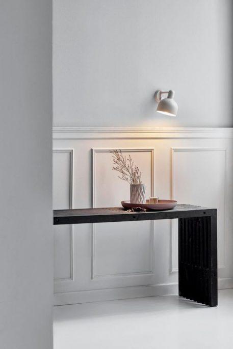 Lampa skandynawska - biały metal - Nordlux