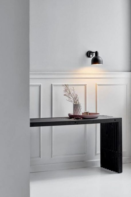 Lampa skandynawska - czarny metal - Nordlux