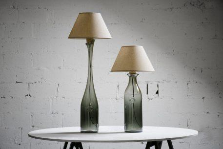 Lampa skandynawska - Styl nowoczesny - Szary -  - Sypialnia