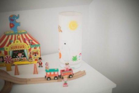 Lampa stołowa - bawełna - Lamps&Co