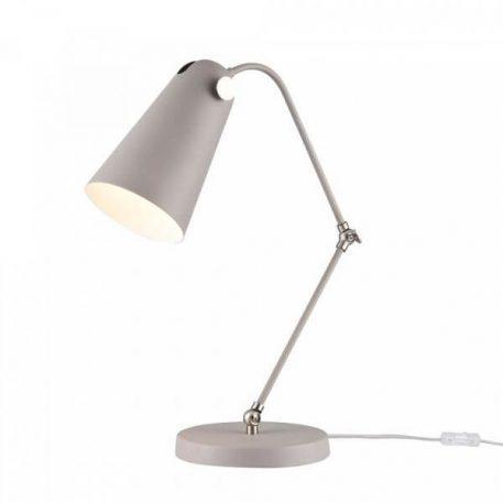 Lampa stołowa Biurkowe Szary  - Sypialnia