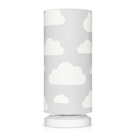 Lampa stołowa Chmurki Grey  do pokoju dziecięcego