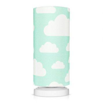 Chmurki Kinkiet – Z abażurem – kolor Niebieski