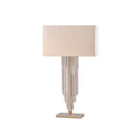 Lampa stołowa Crystal Cascade