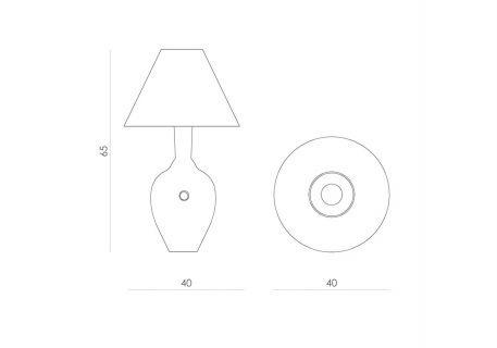 Lampa stołowa - Gie El Home