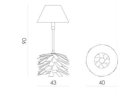 Lampa stołowa - LGH0242