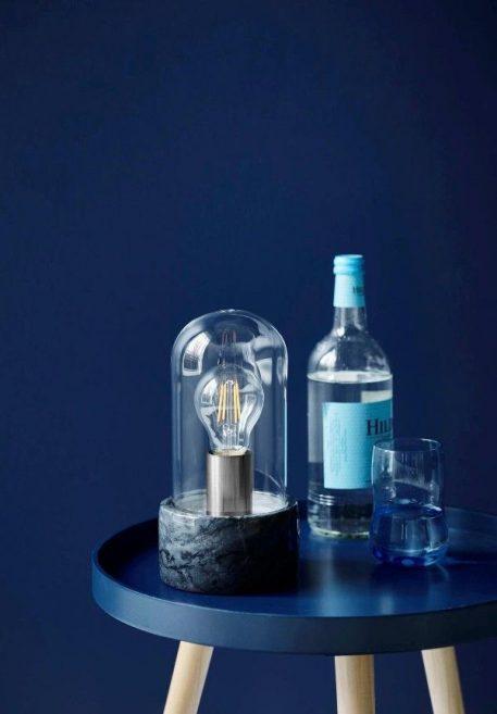 Lampa stołowa - marmur, szkło - Nordlux
