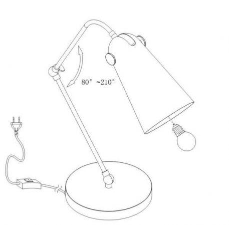 Lampa stołowa - MOD611TL-01GR