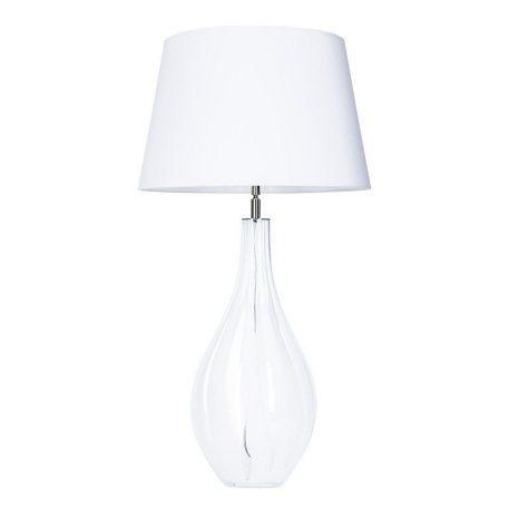 Lampa stołowa Modena White  do salonu