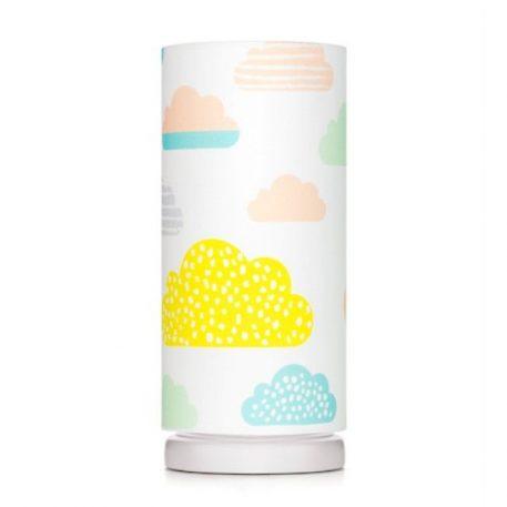Lampa stołowa Pastelowe Chmurki do pokoju dziecięcego