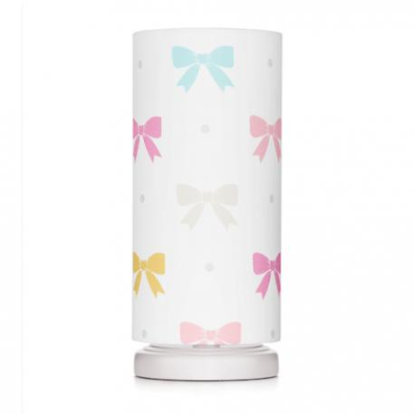 Lampa stołowa Princess Kokardy do pokoju dziecięcego