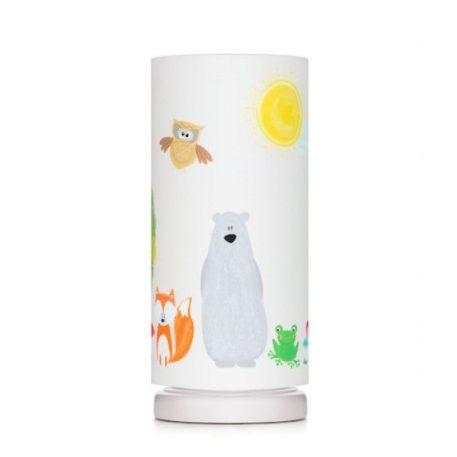 Lampa stołowa Przyjaciele Lasu do pokoju dziecięcego