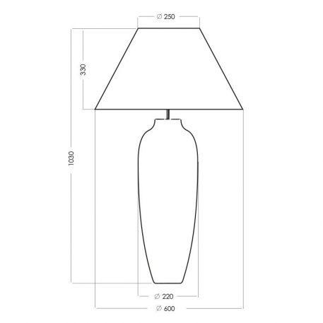Lampa stołowa Styl modern classic beżowy, złoty, Czarny  - Salon