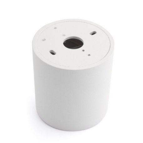 Lampa sufitowa - biały metal - Auhilon