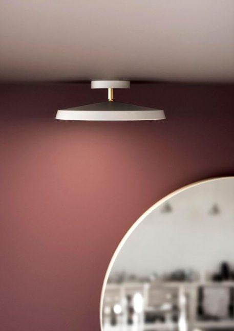 Lampa sufitowa - Styl nowoczesny - biały -  - Sypialnia
