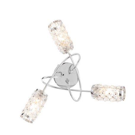 Lampa sufitowa Styl nowoczesny srebrny  - Łazienka