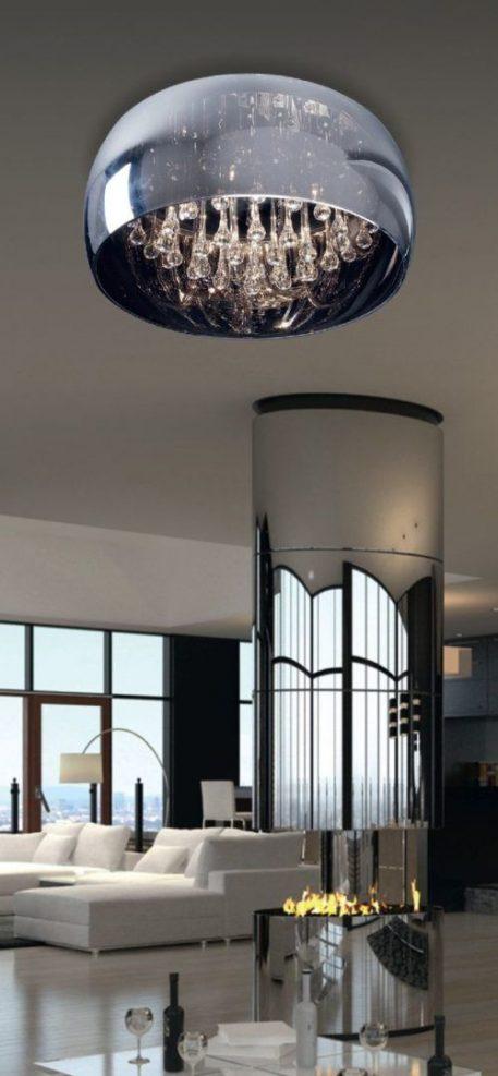 Lampa sufitowa Styl nowoczesny Szary  - Kuchnia