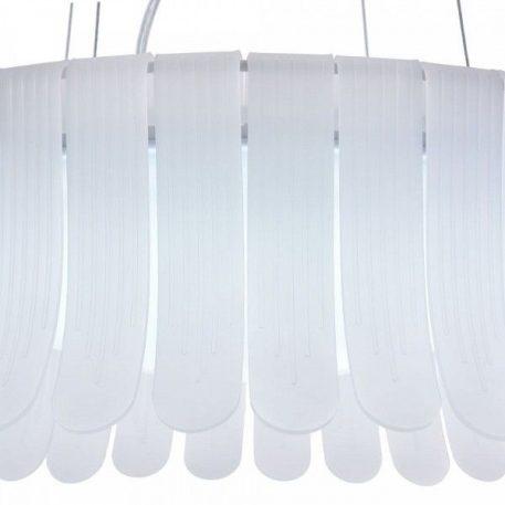 Lampa wisząca - biały akryl - Maytoni