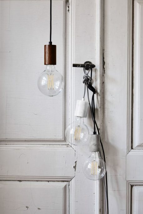 Lampa wisząca - biały marmur - Frandsen Lighting