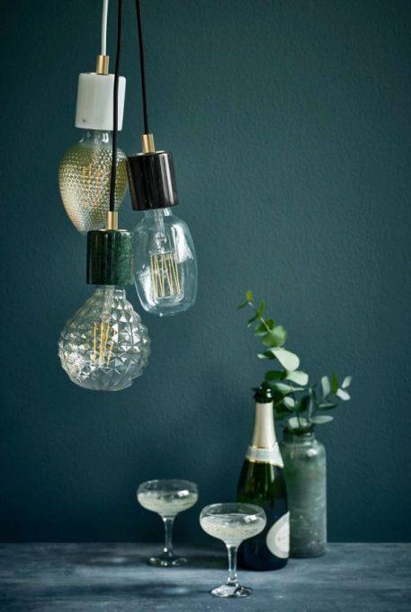 Lampa wisząca - biały marmur - Nordlux