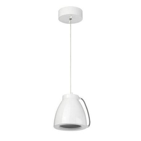 Lampa wisząca - biały metal - Ardant Decor
