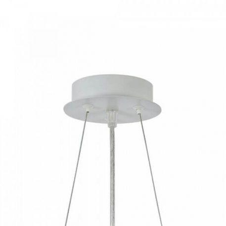 Lampa wisząca - biały metal - Maytoni