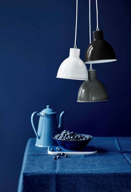 Lampa wisząca - biały metal  - Nordlux