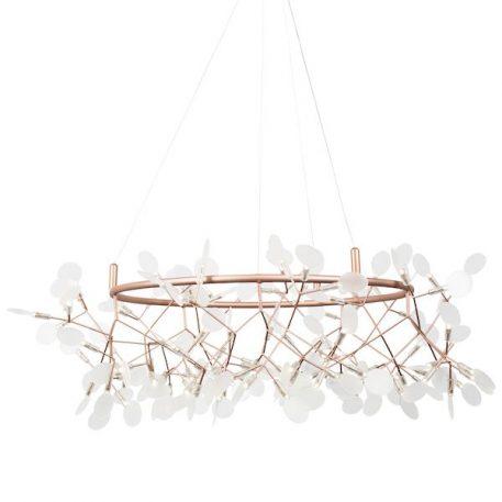 Lampa wisząca Botanic Chic do sypialni