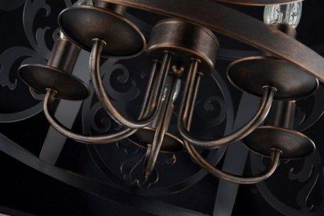 Lampa wisząca - brązowy metal - Maytoni