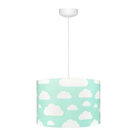 Lampa wisząca Chmurki do pokoju dziecięcego