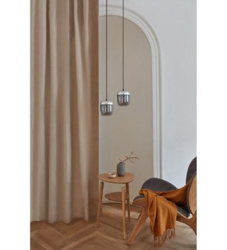 Lampa wisząca - chrom, symione szkło - Umage