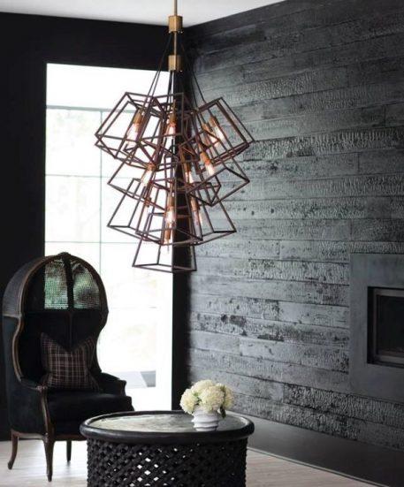 Lampa wisząca - ciemny brąz - Ardant Decor